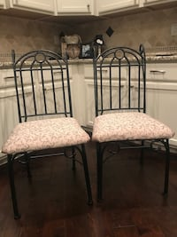 Two chairs.
