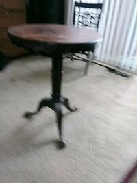 black wooden pedestal table with two chairs Frederick, 21702