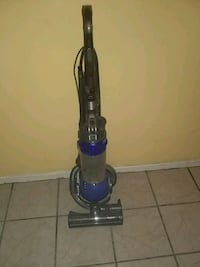 blue and gray upright vacuum cleaner Indio, 92201