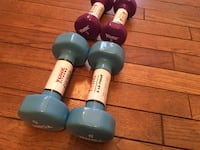 Dumbells 3 & 5 pound dumbells, 2 of each Reston