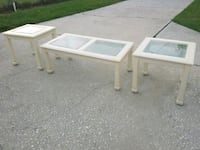 Coffee table and two end tables  New Port Richey