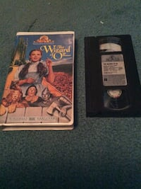 The Wizard of Oz vhs tape 276 mi