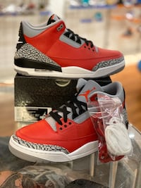 Brand new SE Fire red 3s size 9.5 Silver Spring, 20902