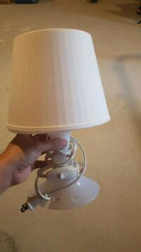 white and gray table lamp New Tecumseth, L0L 1L0