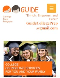 College admissions counseling Washington