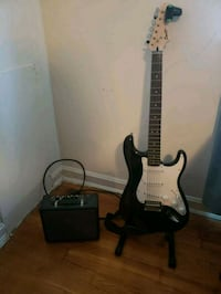 Spire Fender Electric guitar, Amp and tuner