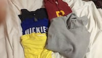 assorted-color polo shirts Georgetown, L7G