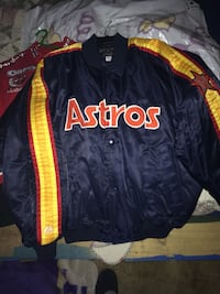 Authentic 1980's jacket. Navy blue, orange,yellow,& red Keithville, 71047