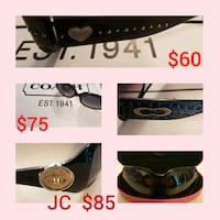 Coach, Juicy Couture sunglasses  Whitby, L1N 8X2