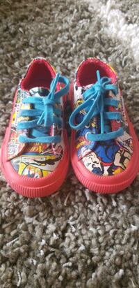 DC Comic shoes for toddlers  Burnaby, V5H 4P3