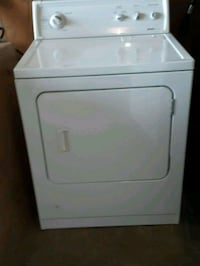 white front-load clothes GAS dryer Hamilton, L8E 3M4