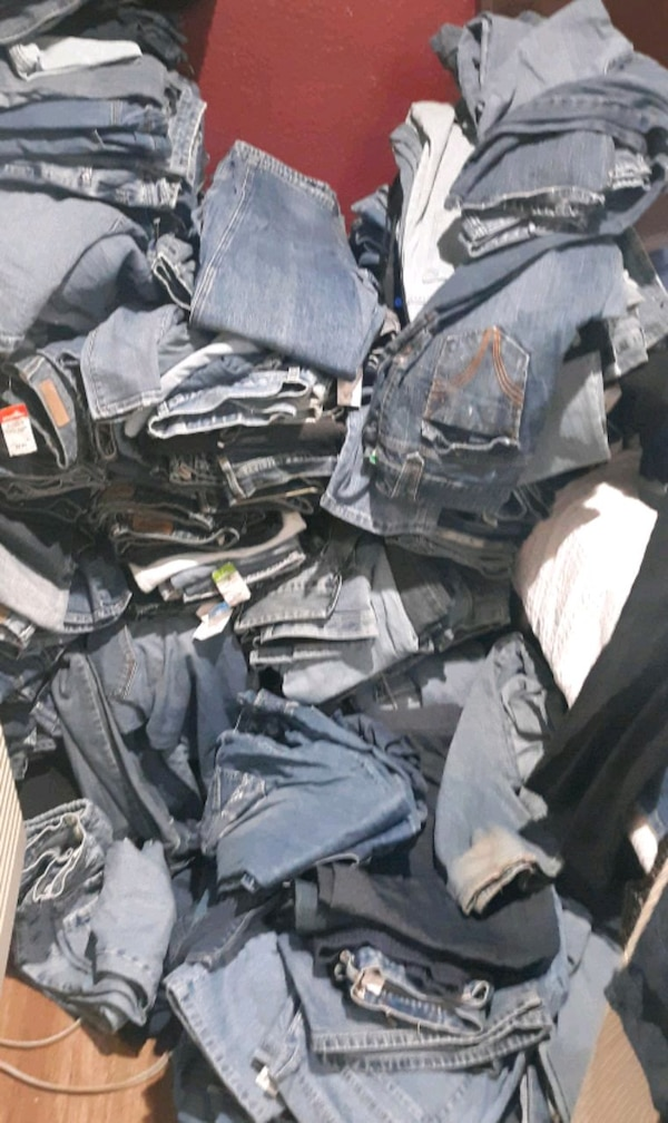 100 Pair Womens Jeans