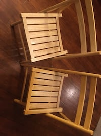 2 Wood folding chairs Sauk Rapids, 56379
