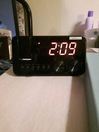 Projection radio alarm clock Red Deer, T4P