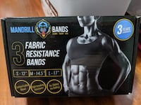Brand New Fabric Resistance Bands Gaithersburg