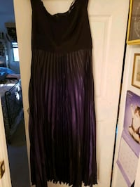 City Chic evening gown in shimmering eggplant.  Gaithersburg, 20878