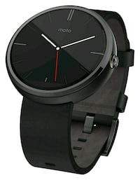 Motorola moto 360 black first gen  546 km