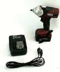 "MATCO Infinium™ 3/8"" Impact Wrench MCL1838IW, 4 Amp Battery and Charger"