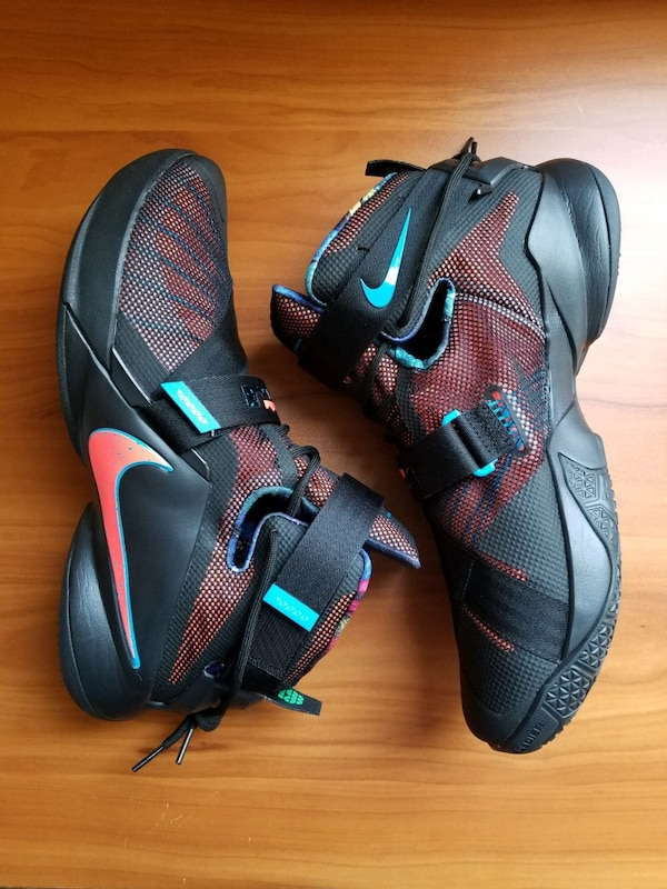 d9c3ea076ec08 Used Nike Lebron James Soldier IX 9 Size 13 for sale in Stockton - letgo
