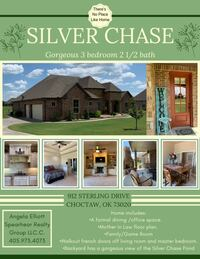 HOUSE For sale 3BR 2.5BA Choctaw
