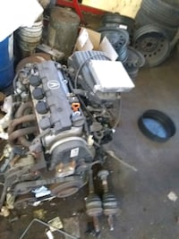 Selling engine, transmission and 8 stock rims and  Markham, L3P 1W5