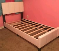 Brand New Twin Size Leather Platform Bed Frame  Silver Spring, 20910