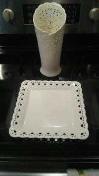Tray and flower pot