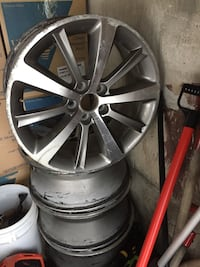 Authentic Lincoln rims 19""