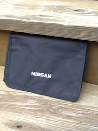 Nissan Owners Manual Case Pouch - Like New - OEM Factory Issue Chicago, 60622
