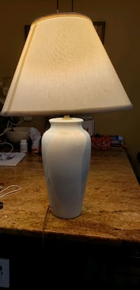 ceramic based lamp with shade  Annandale, 22003