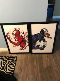 Marvel Venom and Carnage paintings St Catharines, L2N 5S4