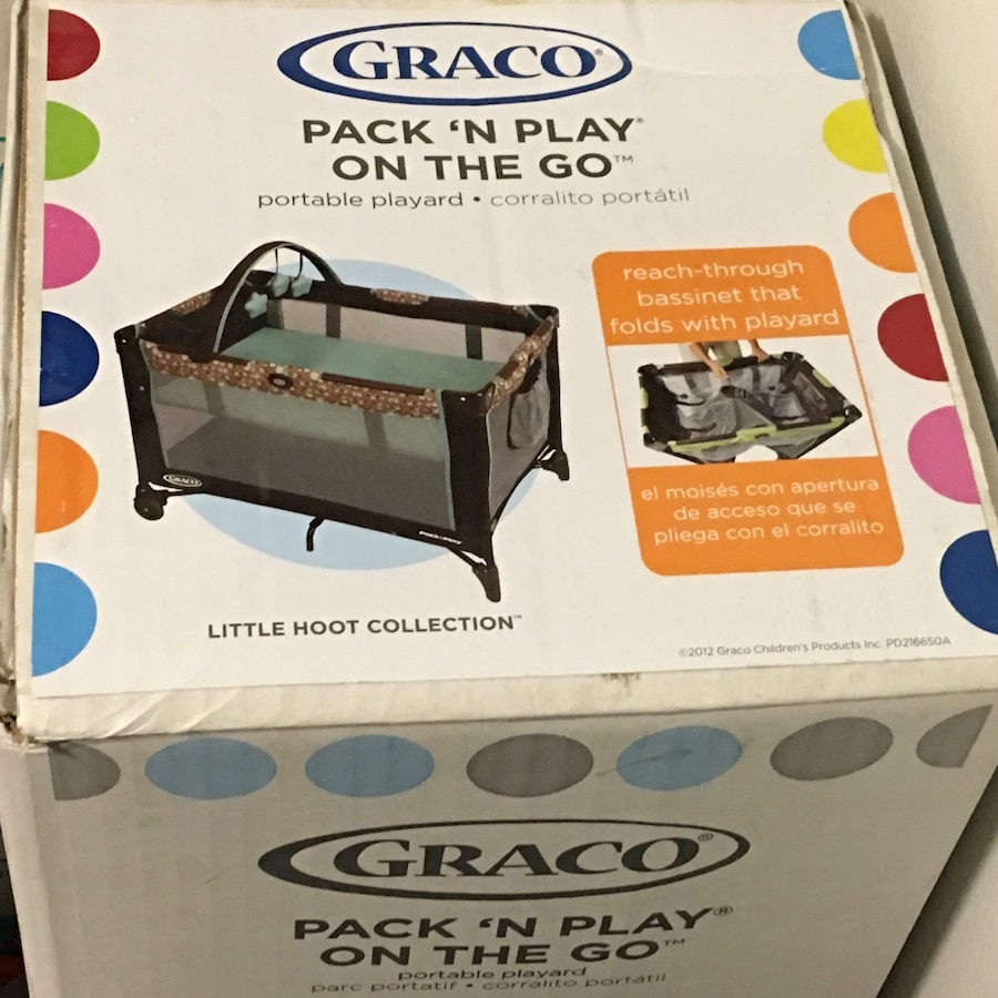 graco pack \u0027n play on the go box Used for sale in Washington - letgo