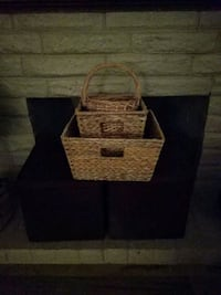 2storage cubes3 baskets all (SERIOUS ONLY)