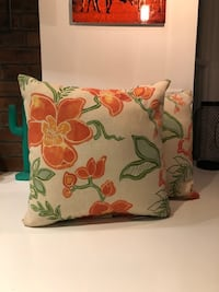 Floral outdoor/ indoor cushions  Toronto, M6N 2W7