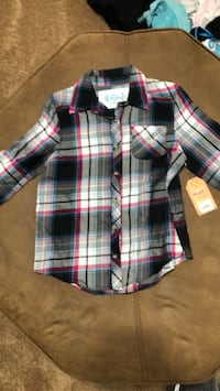 pink blue white and black  flannel Bowling Green, 43402