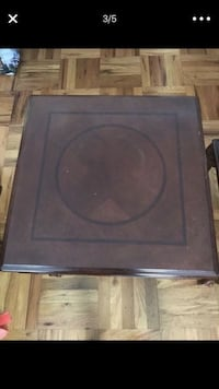 Coffee table and 2 end tables solid wood