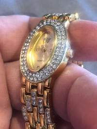 AJ women's watch Bezel and Bamd are encrusted with Swarovski Crystals Rockville, 20852
