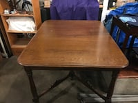 Antique oak table 115 years old