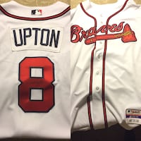 Justin upton game worn jersey was given to me personally  Phoenix, 85042
