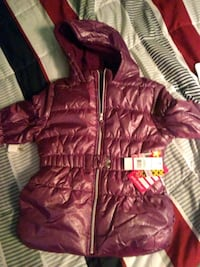 Girls new with tags plum puff jacket Georgetown, 19947