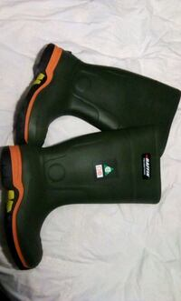 Men's Baffin rubber safety boots