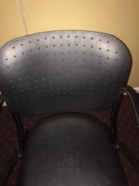 black and gray polka dot chair Gaithersburg, 20877