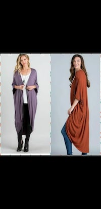 two women's purple and brown cardigans Little Rock, 72206