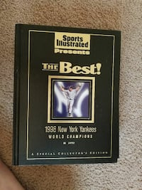 1998 The Best! New York Yankees book