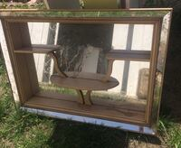 Vintage mirrored wall hanging