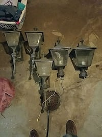 Old lights all work must go