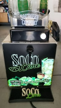 SoCo ice cold shot machine