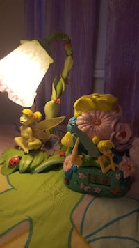 tinkerbell lamp with clock Ontario, K0M 2T0