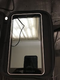 Black tablet computer with case Monmouth