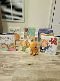 Children's books for ages 3-5 with plush bear Bryans Road, 20616